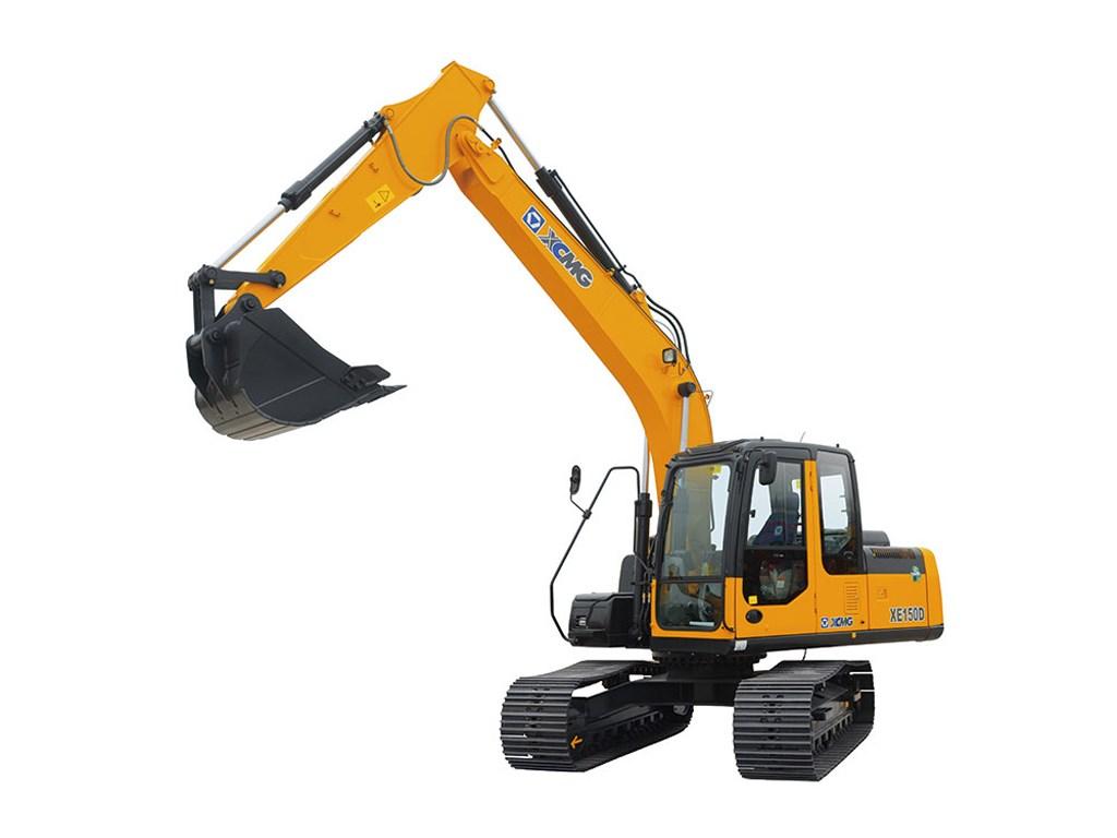 Excavadora sobre orugas XE150