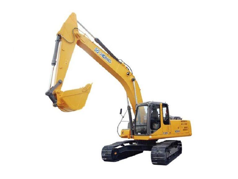 Excavadora sobre orugas XE260 maquinaria